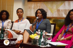 Chioma Sideso (President & CEO, NSIA Insurance, Nigeria) Speaking as a panelist during SAMEAWS 2017
