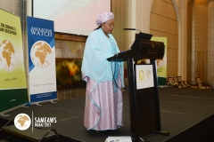 H.E. Aissata Mohammadu Issoufou (First Lady, Republic of Niger) making a special presentaion during SAMEAWS 2017