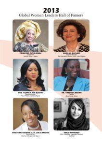 Global Women Leaders Hall of Famers 2013 B