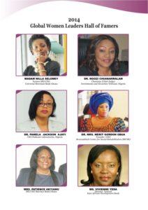 Global Women Leaders Hall of Famers 2014 B