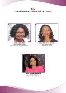 Global Women Leaders Hall of Famers 2014 C