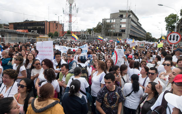 Thousands of Colombians Join Nationwide Protest on Gender ...