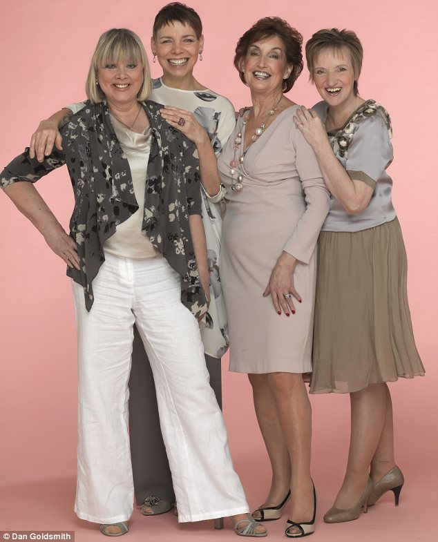 Jane Plant, Angela Profit, Sue Wigg and Anne Freeley