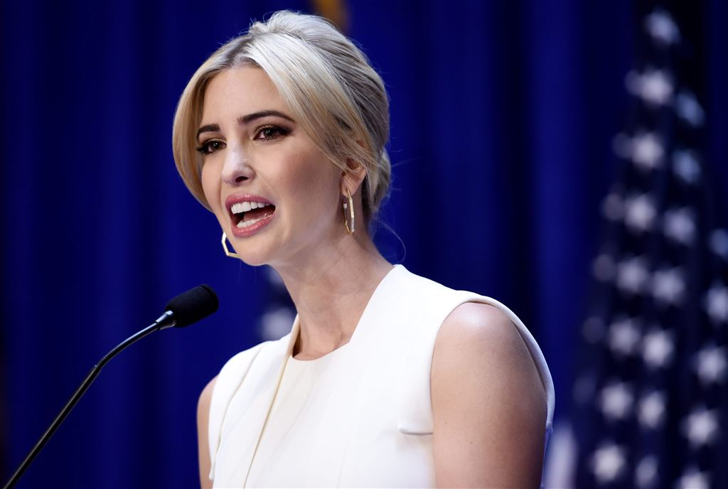 2015-06-16 11:06:32 epa04803139 Ivanka Trump introduces her father, US businessman Donald Trump, for his announcment that he is running for president of the United States, during an event at Trump Tower in New York, New York, USA, 16 June 2015. Real estate mogul and reality television star Donald Trump said he is running for US president. Trump, who has toyed with seeking the nation's highest elected office for years, dismissed the 11 other Republican candidates seeking the centre-right party's nomination for the 2016 presidential elections by declaring that politicians cannot solve the US' economic problems. Trump is the 12th candidate for the Republican nomination and despite his widespread name recognition is not considered a serious contender by political observers.  EPA/JUSTIN LANE  EPA/JUSTIN LANE