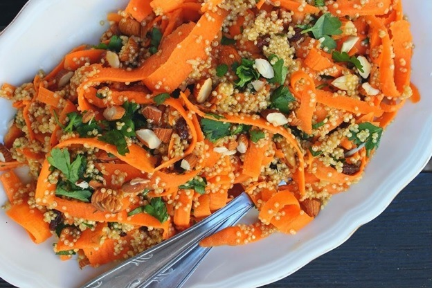 Meal for the Holidays; Algerian Cooked Carrot Salad