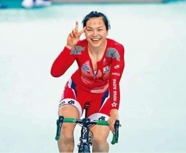 Chinese Girl Rides Bicycle from Morocco to Lagos, Nigeria