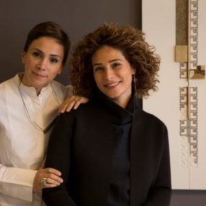 Nisreen and Nermeen Abu Dail – The Sisters of Sculpture Embroidery