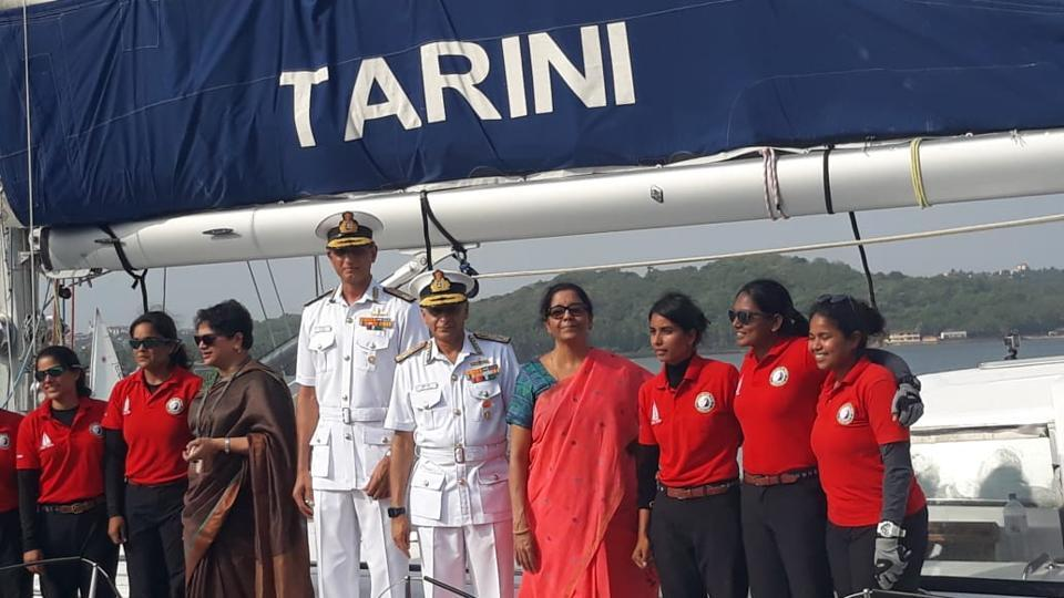 All-Women Indian Navy Crew Returns to Goa after Historic Circumnavigation