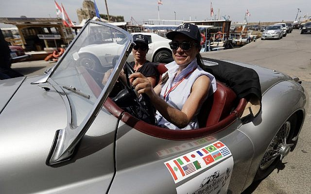 Lebanon Hosts First All-Female Classic Car Rally