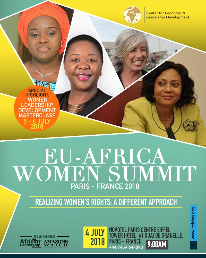 The EU-Africa Women Summit Paris France 2018
