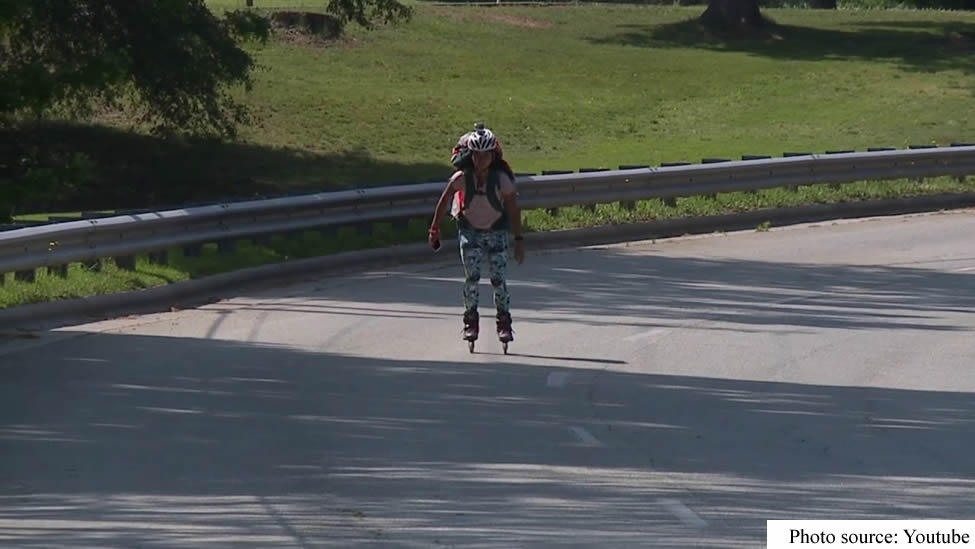 Young Chinese-American Skates Across U.S to Raise Funds for Girl Child Education in Africa