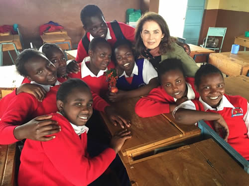 Dayle Haddon: Education for the Girl-Child First