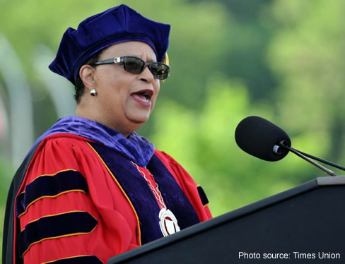 Shirley Ann Jackson: A Rare Gem in Academic Robe