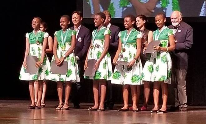 Five Nigerian Teenage Girls Win World Tech Competition in San Francisco