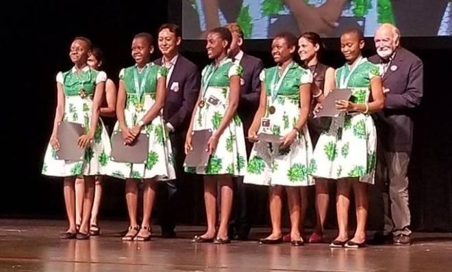 Five Nigerian Teenage Girls Win World Tech Competition in San Francisco