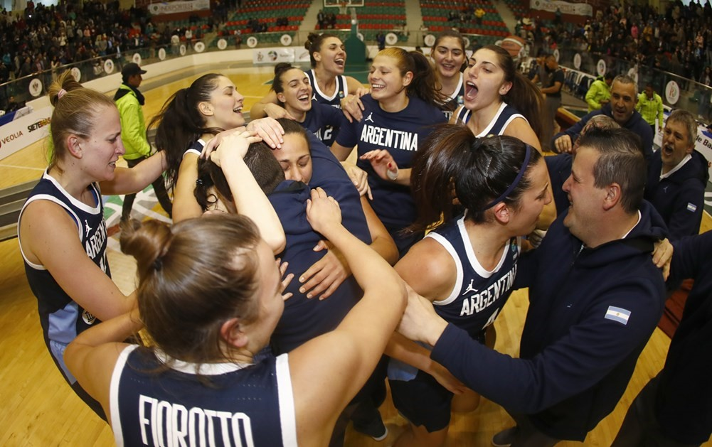 Argentine Women break Brazil's winning streak – emerge champions at South American FIBA 2018