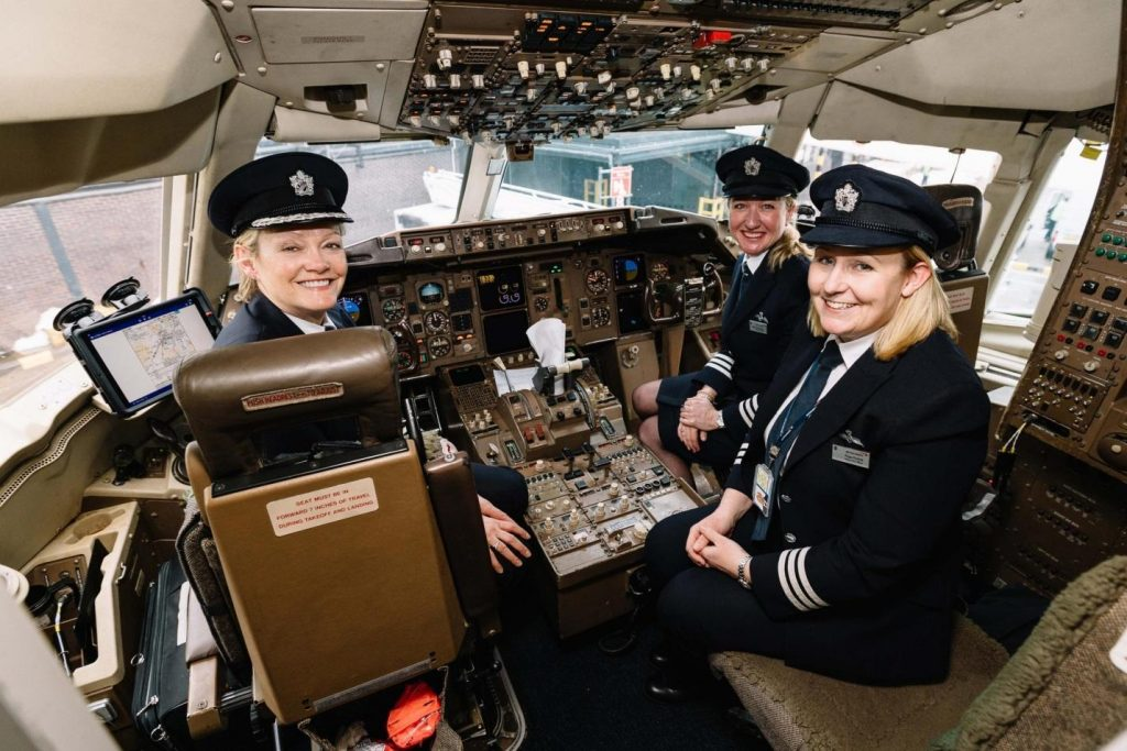 Women in Aviation Use Social Media to Inspire Younger Generation