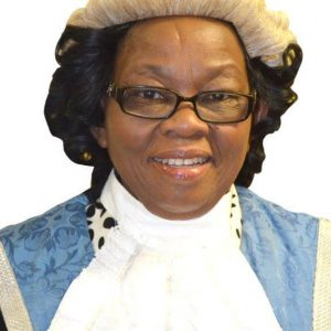 Honourable Gladys Kokorwe- Speaker of the Botswana National Assembly