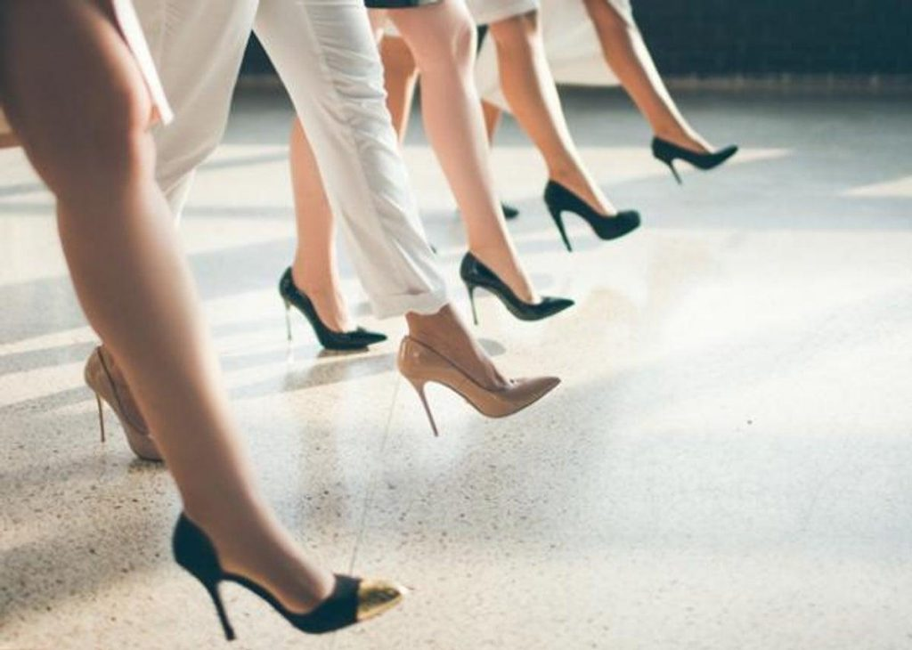 "Women in Japan Filed Petition Against ""Compulsory Heels at Work"""