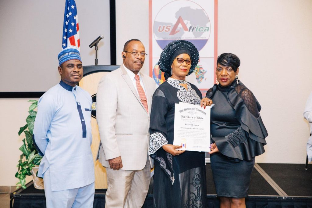 U.S. State of Georgia Fetes Zambian Public Servant with Honorary Citizenship