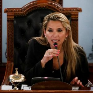 Bolivian Opposition Senator Jeanine Áñez Declares Herself Interim President