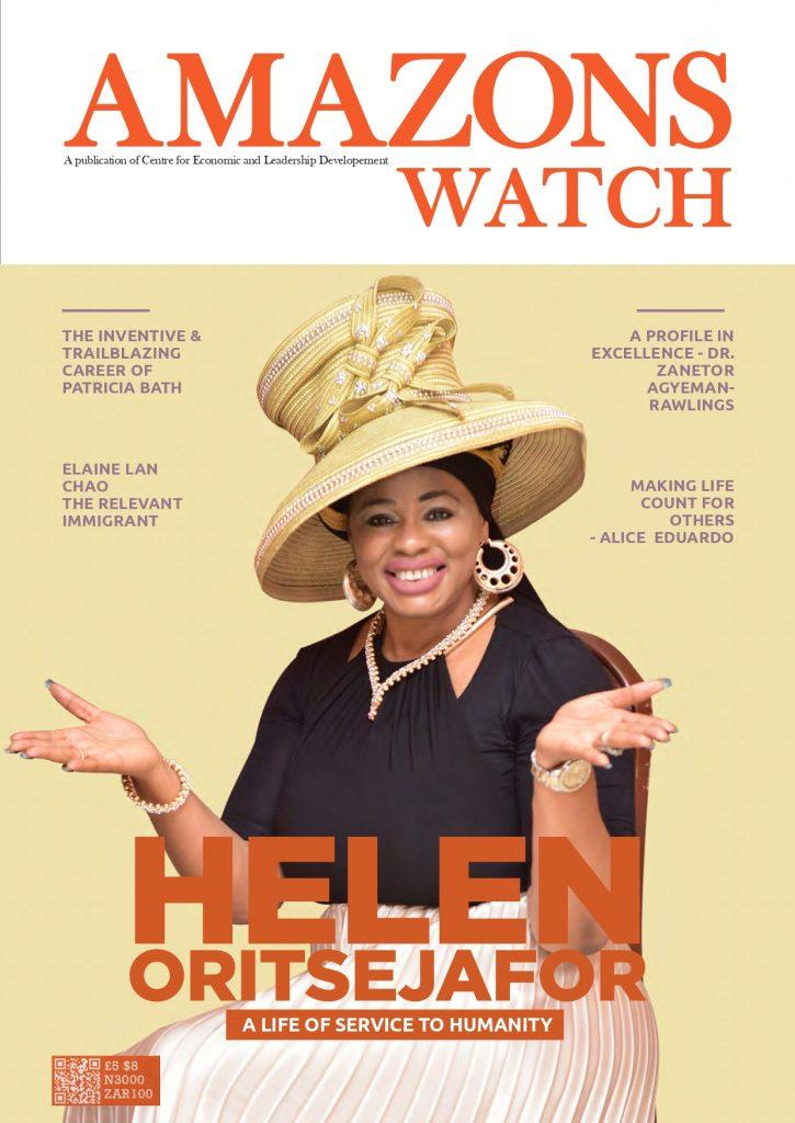 Marrying a Pastor was not part of my Prayer Budget- Reverend Helen Oritsejafor