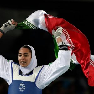 Iran's Only Female Olympic Medalist Disowns Birth Country for Europe