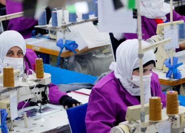Jordan Women Workers Continue Making Protective Wears Amidst Coronavirus Hits