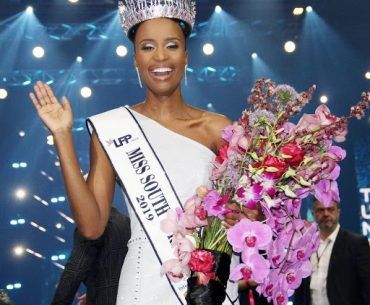 Organizers of South African Beauty Pageant Opens in Hope