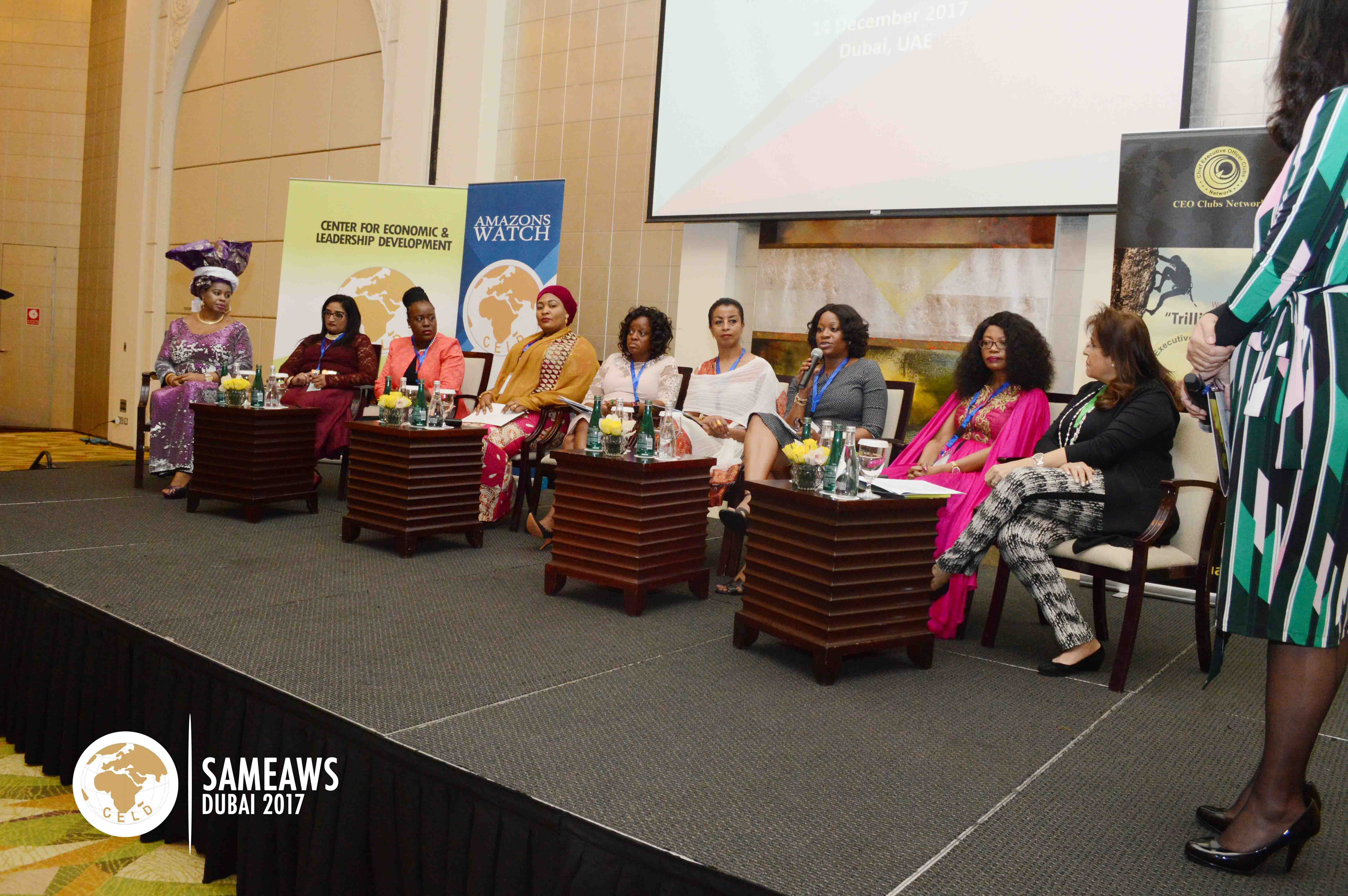 Panelists at the session on The Transformational CEOs