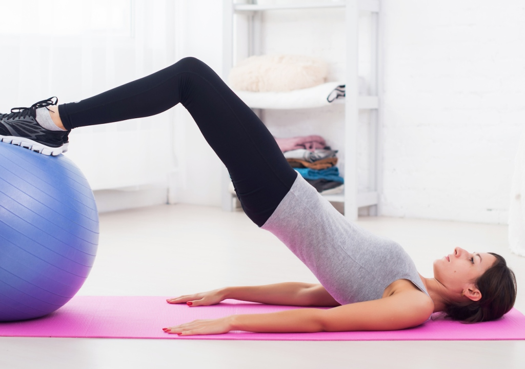 Pelvic floor exercises yoga ball thefloors co for Pelvic floor yoga