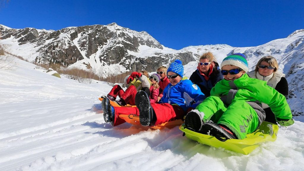 Chamonix – Travel on the Sledge