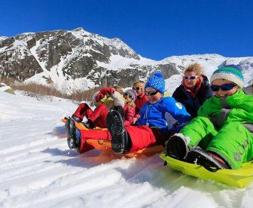 Chamonix – Travel on the Sledge