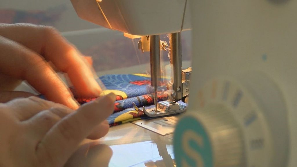 Central Maine Women Sewing Face Masks to Help Fight Coronavirus