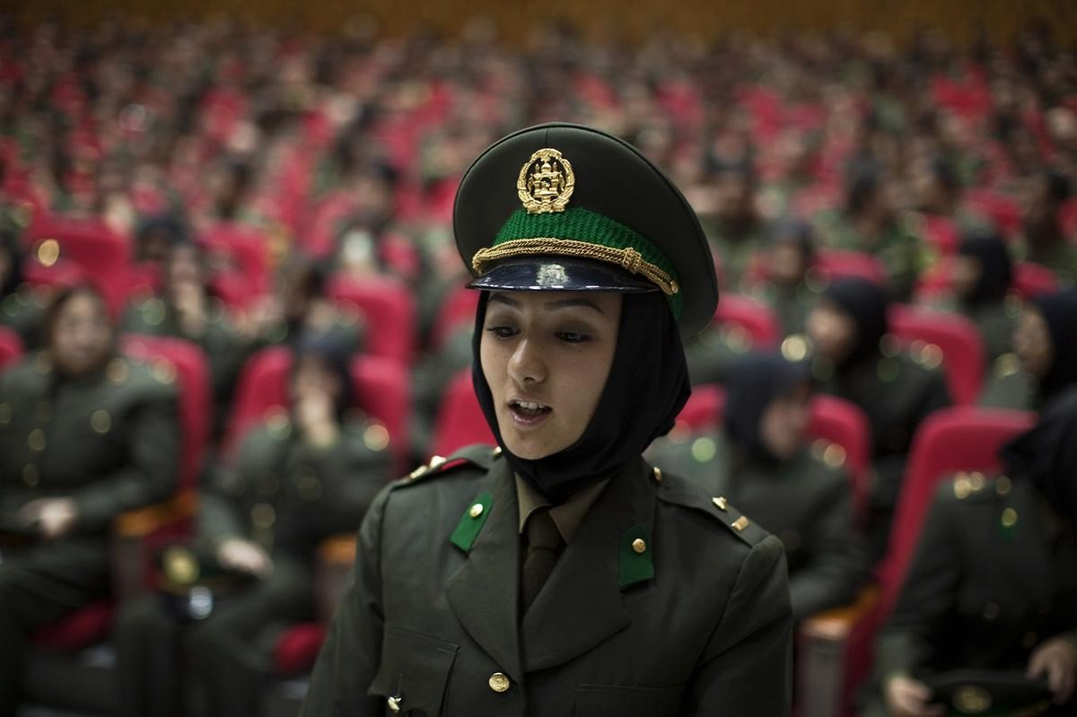 Afghanistan Women in Military Grows by 16 per cent