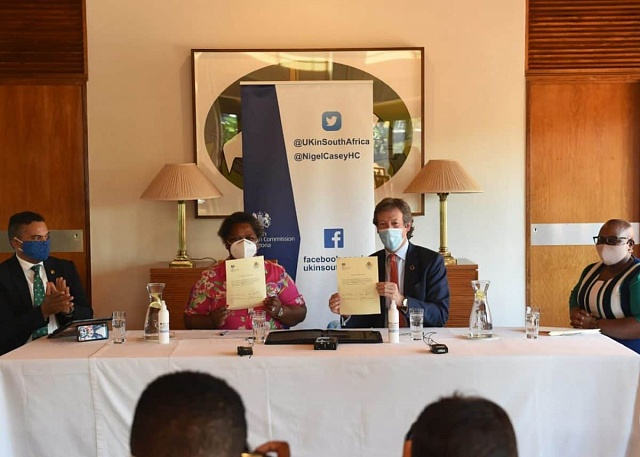 UK Government donates R50m for Projects Supporting and Promoting Women in South Africa