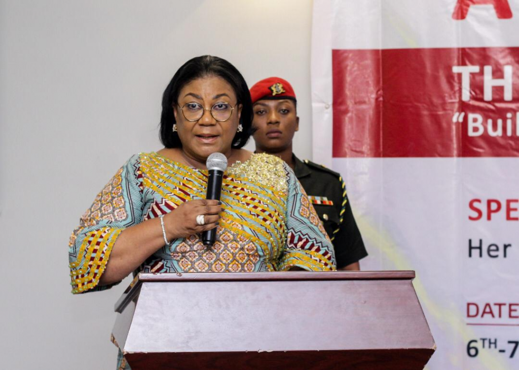 Ghana Commends First Lady for Four Years of Impressive Service