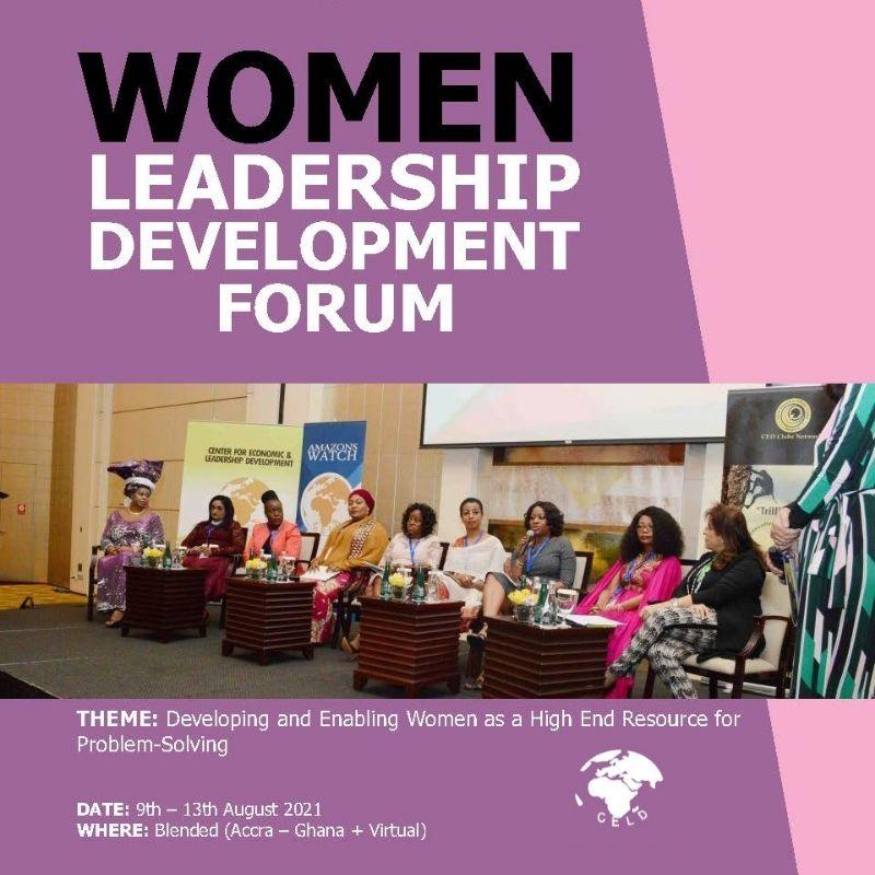 WOMEN LEADERSHIP DEVELOPMENT FORUM 2021