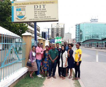 DIT Tanzania Develops Program to Inspire Girls to Pursue Careers in STEM